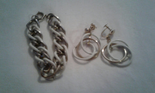 VINTAGE BRACELET & EARRINGS SET