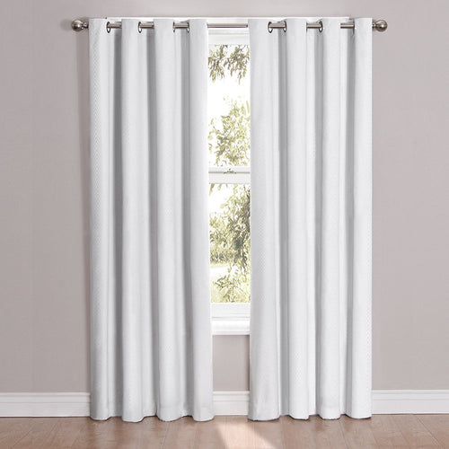 Eclipse Cassidy Blackout Grommet Window Curtain Panel, 52