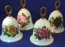 Vintage Danbury Mint American Rose Collectible Bells