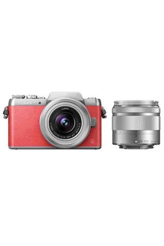 Panasonic GF9W Twin Kit (12-32)(35-100 f4) Pink