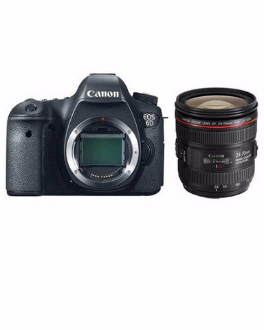Canon EOS 6D Kit (24-70mm F4L IS USM) (Japanese Version)