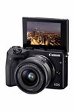 Canon EOS M3 kit (15-45) Black (kit box)
