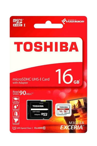 TOSHIBA 16GB T-Flash <M302> 90MB/s