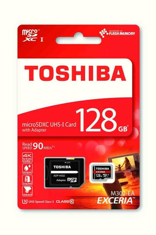 TOSHIBA 128GB T-Flash <M302> 90MB/s