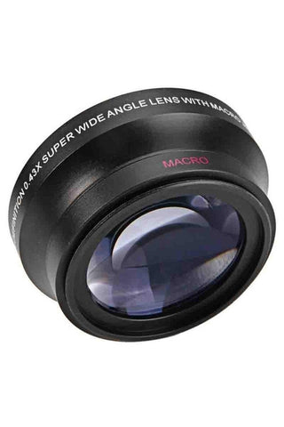 Aft 0.43x Wide Angle Lens with Macro (72mm)