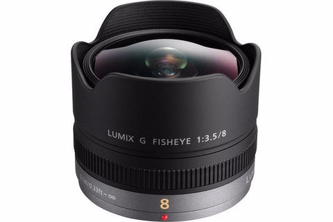 Panasonic LUMIX G FISHEYE 8mm / F3.5