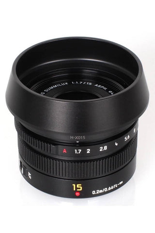 Panasonic LEICA DG SUMMILUX 15mm/F1.7 ASPH (Black)