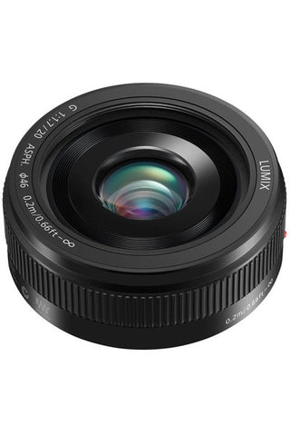 Panasonic LUMIX G 20mm/ F1.7 II ASPH Black