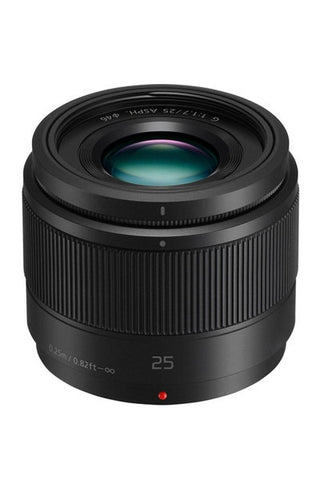 Panasonic Lumix G 25mm f/1.7 Asph (Black)