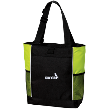 B5160 Port Authority Colorblock Zipper Tote Bag birding birdnerd birdwatching