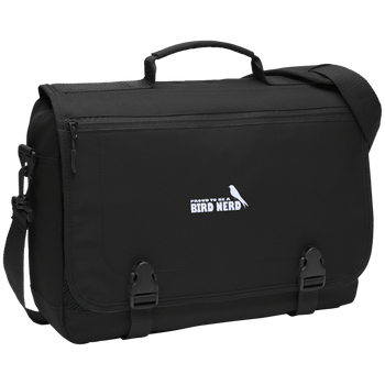 BG304 Port Authority Messenger Briefcase birding birdnerd birdwatching