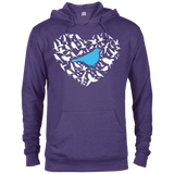 Bird Lovers 97200 Delta French Terry Hoodie birding birdnerd birdwatching