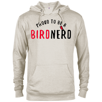 Bird Nerd 97200 Delta French Terry Hoodie birding birdnerd birdwatching