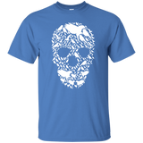 Bird Skull Tee  G200 Gildan Ultra Cotton T-Shirt birding birdnerd birdwatching