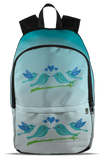 Blue All Over Backpack - Backpack 1 birding birdnerd birdwatching