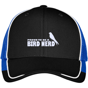 C904 Port Authority Colorblock Mesh Back Cap birding birdnerd birdwatching