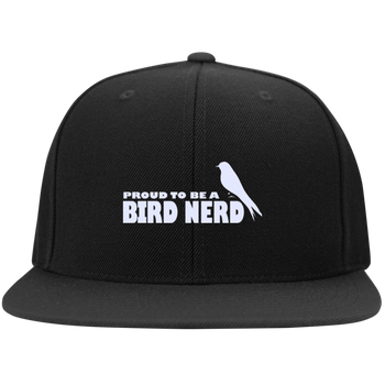 STC19 Sport-Tek Flat Bill High-Profile Snapback Hat birding birdnerd birdwatching