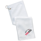 TW51 Port Authority Grommeted Golf Towel birding birdnerd birdwatching