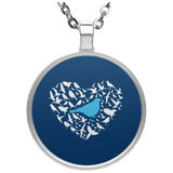 UN4686 Circle Necklace birding birdnerd birdwatching