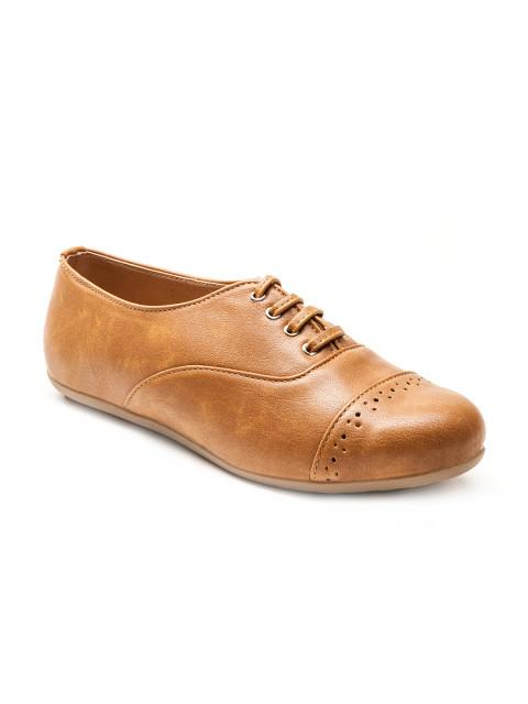 Scamanus Brown Casual Shoes