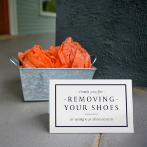 Why shoe covers are a must for realtors