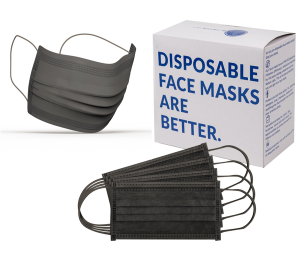 Premium Disposable Face Masks (for Medical / Non-Medical) - Blue Shoe Guys