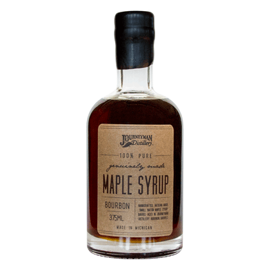 Barrel-Aged Bourbon Maple Syrup
