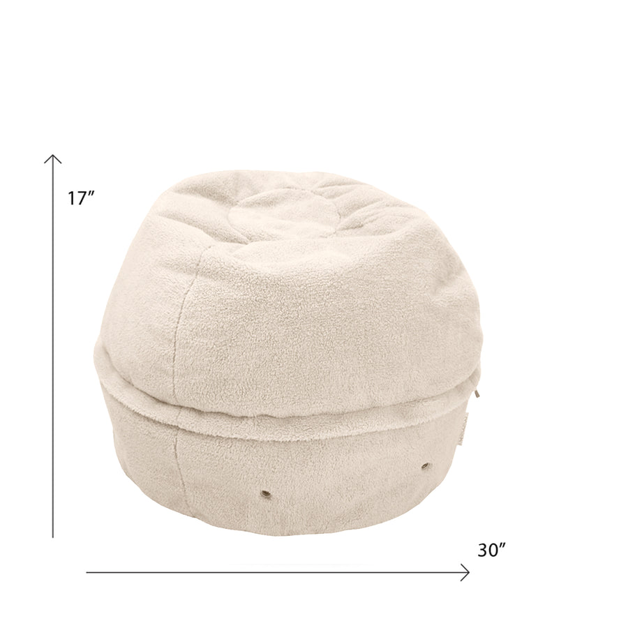 Storage Beanbag - [product_title} with Zipper - mimish, inc.
