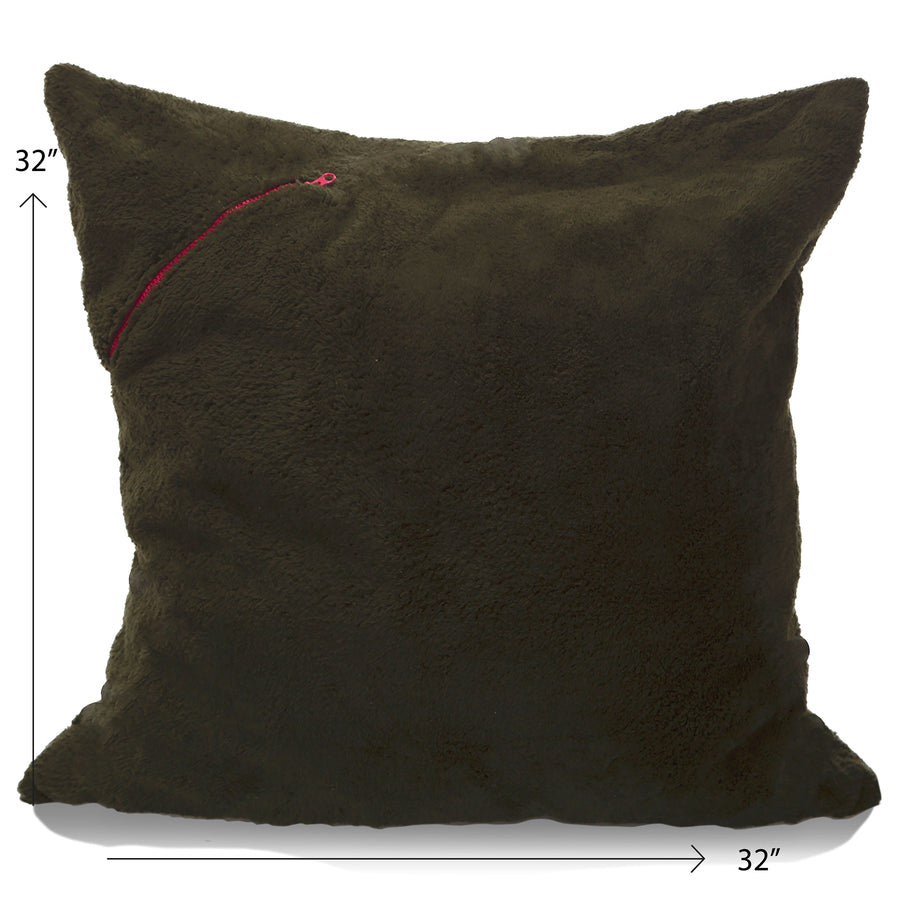 Storage Floof X-Large Floor Pillow - [product_title} with Zipper - mimish, inc.