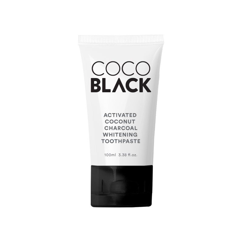 Activated Coconut Charcoal Whitening Toothpaste