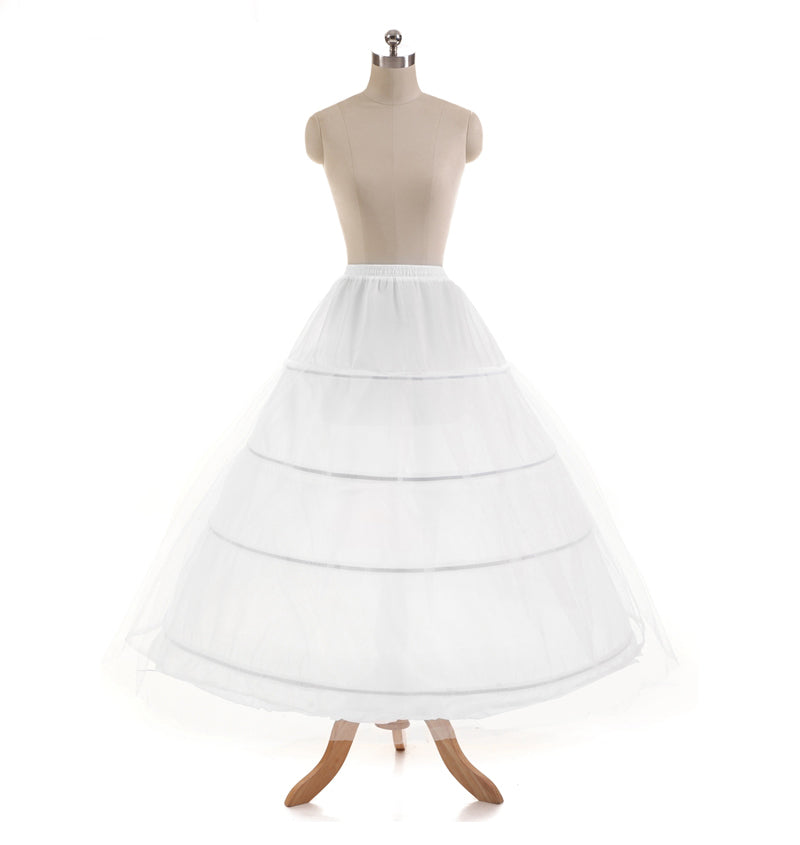 Ball Gown Petticoat 4-Hoops