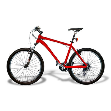 Powder Coating Bicycle Frames Large Red