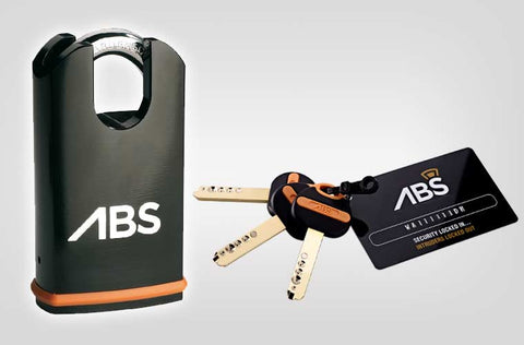 Avocet ABS Close Shackle Padlock