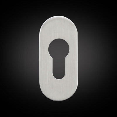 Affinity Oval Escutcheon - Stainless Steel