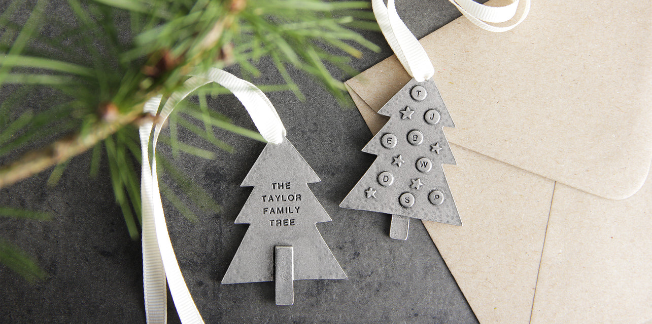 Christmas family tree decoration