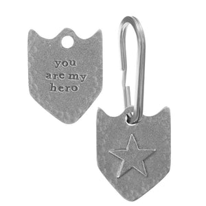 Hero Badge Keyring