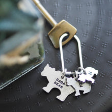 Load image into Gallery viewer, Bear Family Keyring