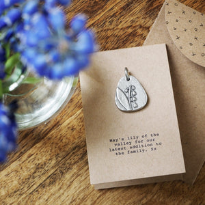 Birth Flower Charm