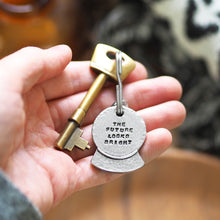 Load image into Gallery viewer, 'The Future Looks Bright' Crystal Ball Keyring