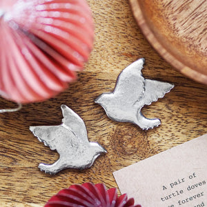 Two Turtle Doves Friendship Pocket Token Set