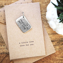 Load image into Gallery viewer, 'Sending You Love' Envelope Charm
