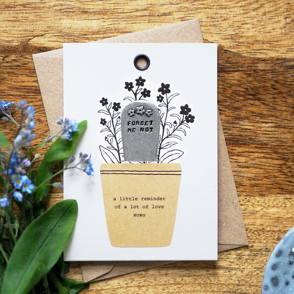 'Forget Me Not' Plant Marker