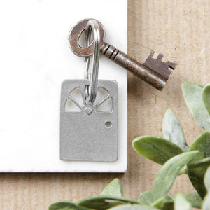 Heart Door Keyring