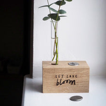 Load image into Gallery viewer, 'Let Love Bloom' Vase and Token Set