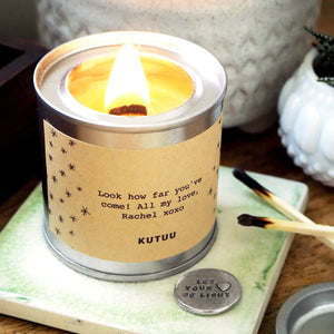 'Let Your Heart Be Light' Hidden Token Candle