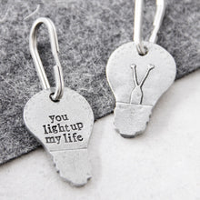 Load image into Gallery viewer, 'You Light Up My Life' Keyring
