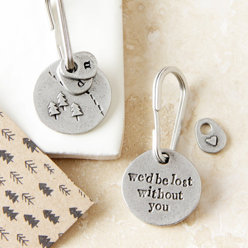 'Lost Without You' Keyring