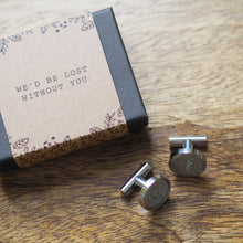 Load image into Gallery viewer, 'Lost Without You' Cufflinks