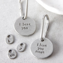 Load image into Gallery viewer, 'I Love You'/'I Love You More' Keyring