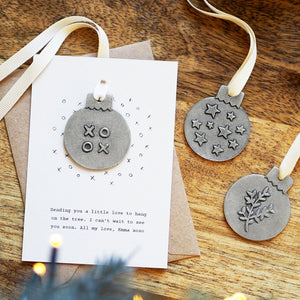 Personalised Mini Motif Bauble